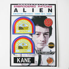 "ALIEN / ALIENS  ""KANE"" Shirt Patches - Iron-On Patch Mega Set #04 - FREE POST"