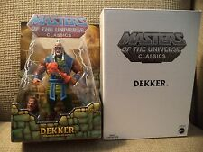 He-man Masters of the Universe Classics Dekker figure w/ white box W8899 *new*