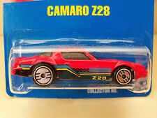 1991 HOT WHEELS - BLUE CARD #33 CAMARO Z28 (ULTRA HOT WHEELS) DIECAST