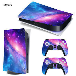 Handle Sticker Waterproof Skin Protect Film for PS5 Disc Edition/Digital Edition