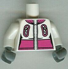 Lego Collectible Minifigures SERIES 3 Minifigure body Snowboarder Minifig Part