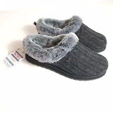 Bobs From Skechers Ice Angel Fuzzy Slippers  W Memory Foam Nib Womens 8    103