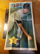 1968 TOPPS Baseball Poster, Jim Lonborg No. 11