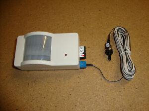 12 Volt DC Bewegungsmelder 5 Ampere = 60 Watt mit Schalter