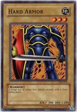 3x Hard Armor - LOB-074 - Common - 1st Edition LOB - Legend of Blue Eyes White D