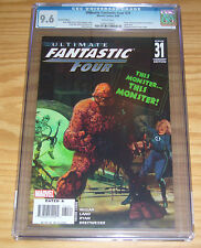 Ultimate Fantastic Four #32 CGC 9.4 arthur suydam marvel zombies variant 2006