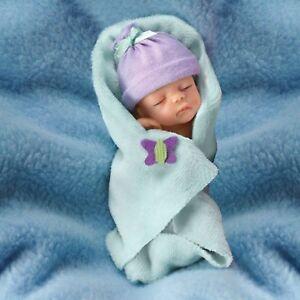 """0302196002 Bundle of Joy 4"""" Ashton Drake Doll Bundle Babies by Sherry Rawn"""