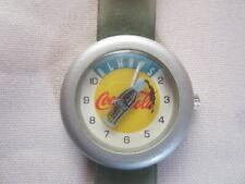 Coca Cola Uhr Armbanduhr Always Kronkorken Plastikarmband  Werbung Sammelstück