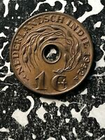 1942-P Netherlands East Indies 1 Cent (35 Available) Circulated (1 Coin Only)
