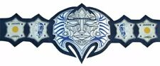 TNA Immortal Jeff Hardy Champion Title Belt Plates Leather Adult Size (Replica)