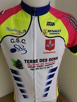 Superbe maillot de cyclisme  amateur   taille L