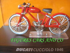 MOTO 1/24 COLLECTION DUCATI  CUCCIOLO 1946 MOTORCYCLE