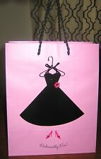 HALLMARK 'FASHIONABLY FUN!' PINK GIFT BAG FOR THE FASHIONISTA IN YOUR LIFE