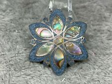Design Unique 5.5 Gram Weight Taxco 925 Mexico Pin Pendant Iridescent