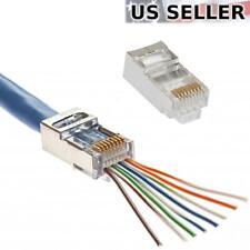 Blue AMPHENOL CABLES ON DEMAND MP-6ARJ45SNNB-001 Network Cable 304.8 mm RJ45 Plug 1 ft RJ45 Plug 10 pieces Cat6a