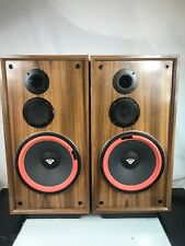 "Vintage Cerwin Vega DX-5 3 way Floor Speakers 12"" Inch Woofer"