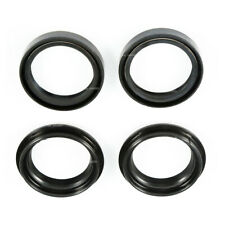 4Pcs 43x55x11mm Motorcycles Front Fork Damper Shock Absorber Oil Seal+Dust Seal