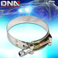 """2.75"""" STAINLESS T-BOLT CLAMP FOR INTAKE TURBO INTERCOOLER SILICONE HOSE COUPLER"""