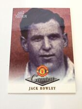 Manchester United Futera Platinum 1999 Greatest Card (JR)