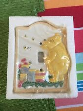 Charpente Classic Pooh Switch Plate #65060 Baby New