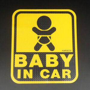Baby & Child in Car Special Sucker Safety Sign Sticker Paste inside Window