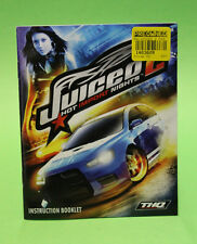 INSTRUCTION BOOKLET/MANUAL ONLY FOR JUICED 2 PS3 (NO GAME) 🌹 OZ SELLER