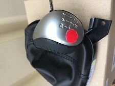 VE Commodore SS SSV V8 BLACK LEATHER 6 SPEED MANUAL GEAR KNOB & BOOT GENUINE GM
