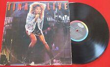 TINA TURNER *** Tina Live - En Vivo *** ORIGINAL & RARE 1988 LP Venezuela