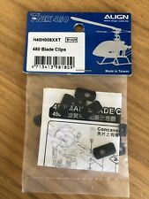 Align T-Rex 450 Blade Clips H45H008XXT New in bag
