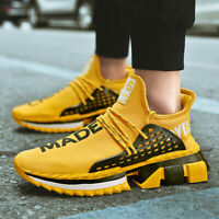 Men's Athletic Sneakers Breathable Lace Up Outdoor Sports Running Casual Shoes
