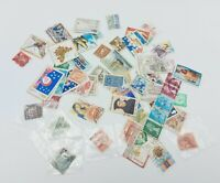 Bundle Of Used Postage Stamps UK and International Collectors