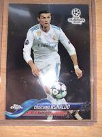 Cristiano Ronaldo 2017-18 Topps Chrome UEFA Champions League #93 Real Madrid