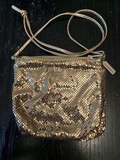 Vintage Whiting and Davis Gold Mesh Small Purse