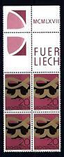 LIECHTENSTEIN - 1967 - 20 r. - Simboli cristiani. Alfa e Omega