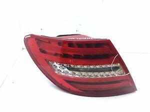 MERCEDES-BENZ C W204 Arrière Gauche Feu Fissuré Facelift USA A2048202864 2013