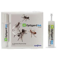 Optigard Ant Bait Gel 4 Tubes Powerful Pro Ant Killer Bait Treats Carpenter Ants
