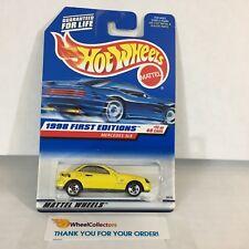 Mercedes SLK #646 * YELLOW * 1998 Hot Wheels * NE3
