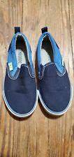 Gymboree Toddler Sz 9 Two-tone Blue Loafer Slip-on Shoe