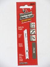 "Jig-Saw Blade 1/4"" Universal 17 TPI Metal Bi-Metal 1pk Vermont American 30075"