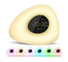 Wake Up Light, Sunrise Alarm Clock with Color Night for Bedside...