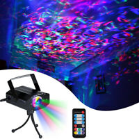 RGB LED Water Ocean Ripple Effect Stage Light Laser Projector lamp Xmas Disco DJ