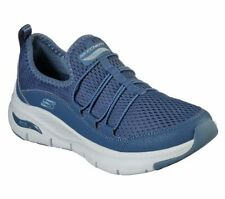 Skechers Womens Arch Fit Trainers Lucky Thoughts Supportive Comfort Sporty Shoes