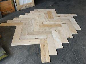 Exotic Natural Stone Wood Tile 6x24 Matt Finish Herringbone Pattern 180 Sq/Ft
