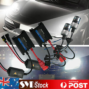 Xenon HID Kit For Holden Commodore VE Low Beam Headlights 55W H7 6000K 12V