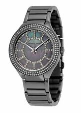 Michael Kors Stainless Steel Case Plastic Strap Wristwatches