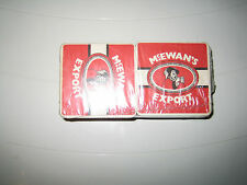 BEER MAT/COASTER - McEWANS LAGER CAVALIER double sided