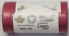 2017 Canada Full Roll of Loon One Dollar Classic Traditional Unreleased Loonie