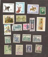 ++ WORLD  Lot Stamps Albania, Bohmen, Israel, SHS, Norway