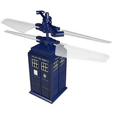 """*NEW* Dr Who Remote Radio Control Flying TARDIS COPTER - R/C Controlled 3"""" Inch"""