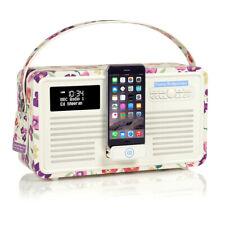 Emma Bridgewater Digital DAB Radio with Apple iPod Dock, Bluetooth -  Wallflower